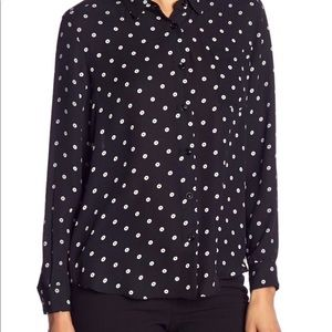 Philosophy Button Down Blouse NWT Size XS